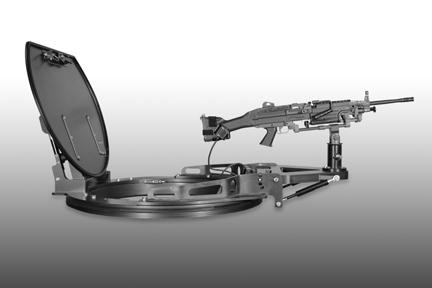 Cs5200 Lightweight Motorized Gun Turret For Tactical Vehicles