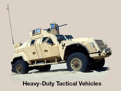 Heavy Duty Tactical Vehicles