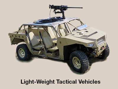 Light-Weight Tactical Vehicles